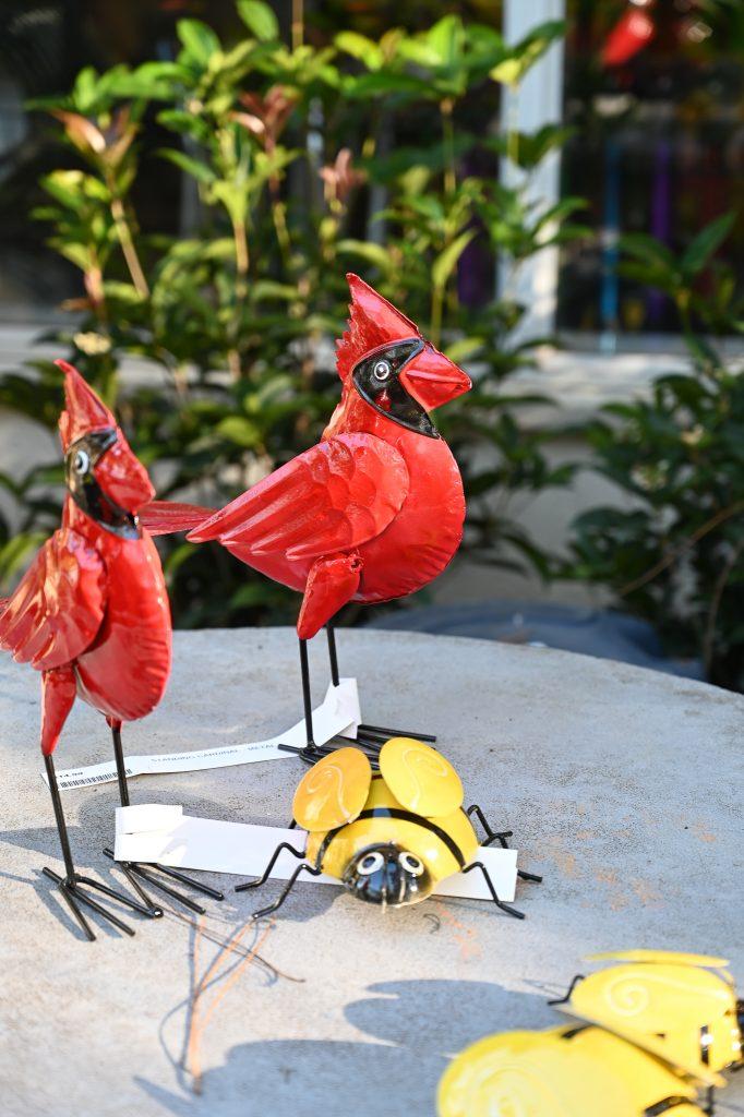 Cardinal Garden Art